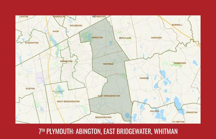 7th Plymouth: Abington, East Bridgewater, Whitman